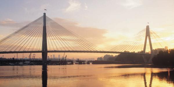 Glebe Anzac Bridge