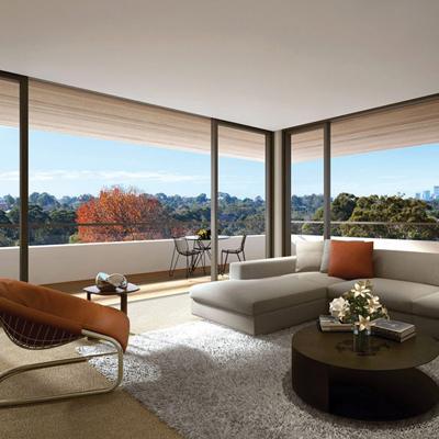 Putney hill living room